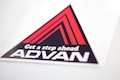 Advan Get a step ahead sticker