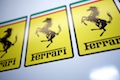 Ferrari Square Logo Sticker