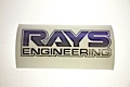 Rays Engineering Logo Outlined