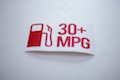 30+ MPG Pump Sticker