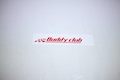 Buddy Club Logo Sticker
