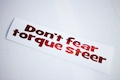 Dont fear torque steer
