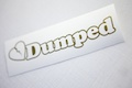 Dumped Diecut Sticker