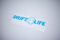 Drift 4 Life Sticker