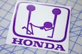 Honda F*ck Sticker
