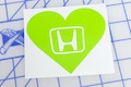 Honda Heart Sticker