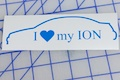 I Heart My Ion Sticker