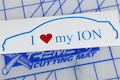 I Heart My Ion Sticker Specialty