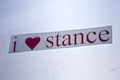 I Heart Stance