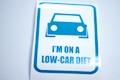 I'm On A Low Car Diet Sticker