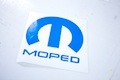 Moped Sticker
