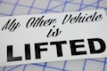 My Other Vehicle Is Lifted Sticker
