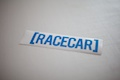 RaceCar Bracket Sticker