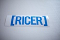 Ricer Bracket Sticker