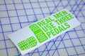 Real Men Use Three Pedals Sticker