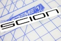 Scion Word Logo Sticker
