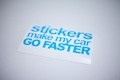 Sticker Make My Car Go Faster Sticker