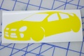 SRT-4 Silhouette sticker