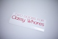 Two Doors For Classy Whores Sticker