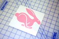 VW Rabbit Logo Sticker