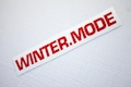 Winter Mode Sticker