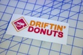 Driftin Donuts Printed Sticker