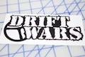 Drift Wars Printed Sticker