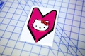 Hello Kitty New Driver Badge Sticker