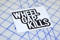 Wheel Gap Kills Printed Sticker