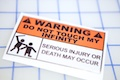 Warning Do Not Touch My Infinity Sticker