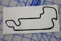 Indy GP Trackmap Sticker