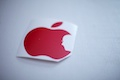 Apple Logo with Jobs Face Sticker