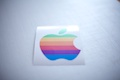 Apple Rainbow Logo Sticker