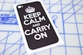 Keep Calm And Carry On Phone Wrap