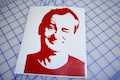 Bill Murray Silhouette Sticker