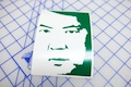Leslie Chow Face Sticker
