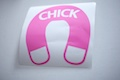Chick Magnet Sticker