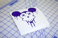 Dead Mickey Sticker