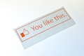 You Like This Diecut