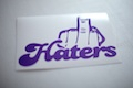 Fuck Haters Sticker