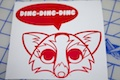 The Fox Says Ding-Dign-Dign Sticker