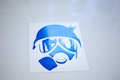 Gasman Icon Sticker