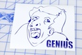 Genius Meme Sticker