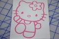 Hello Kitty Dancing Sticker