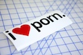 I Heart Porn Specialty Sticker