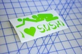 I Heart Sushi Sticker