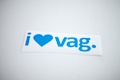 I Heart Vag Sticker