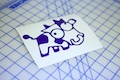 JDM Drift Cow Sticker