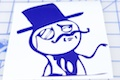 Like A Sir Meme Sticker