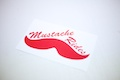Mustache Rides Sticker